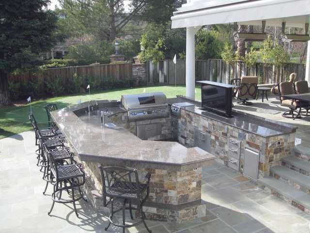 Paradise Outdoor Kitchens For Entertaining Guests Outdoor Kitchen Design Outdoor Barbeque Built In Bbq