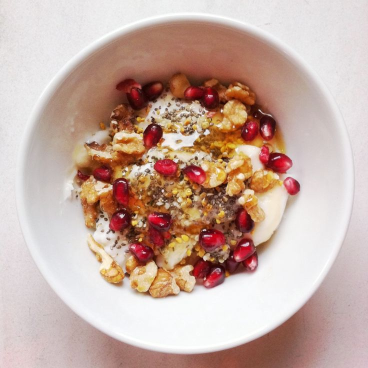 Pomegranate Yogurt Bowl Recipe — Dishmaps