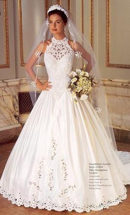 1997 wedding dresses