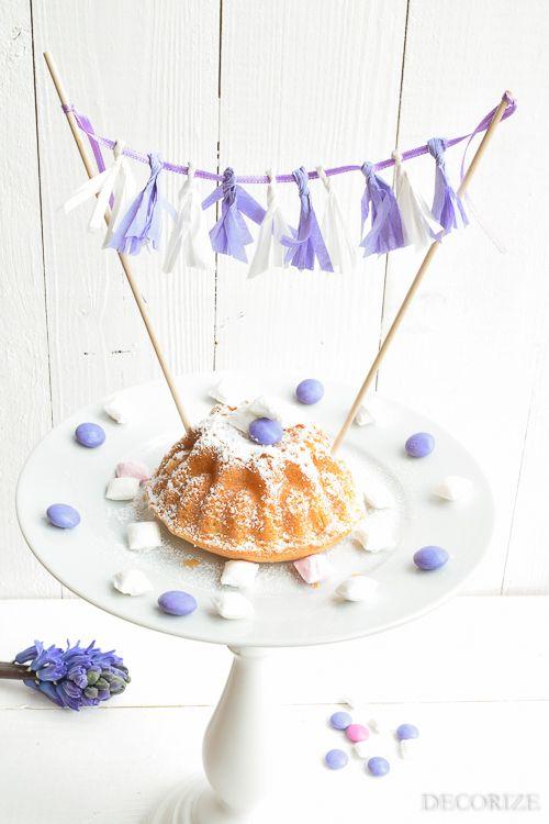Geburtstags-Kuchen: On top of the Cake – tolle Kuchen-Deko
