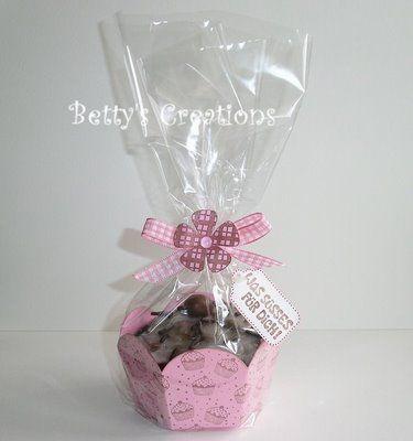 tutorial and template cupcake box