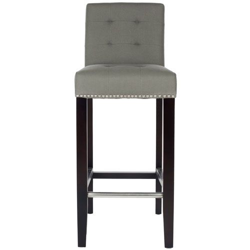 Thompson Bar Stool Safavieh Home Furniture Bar Height (28 To 36 Inch) Bar Stools Kitchen