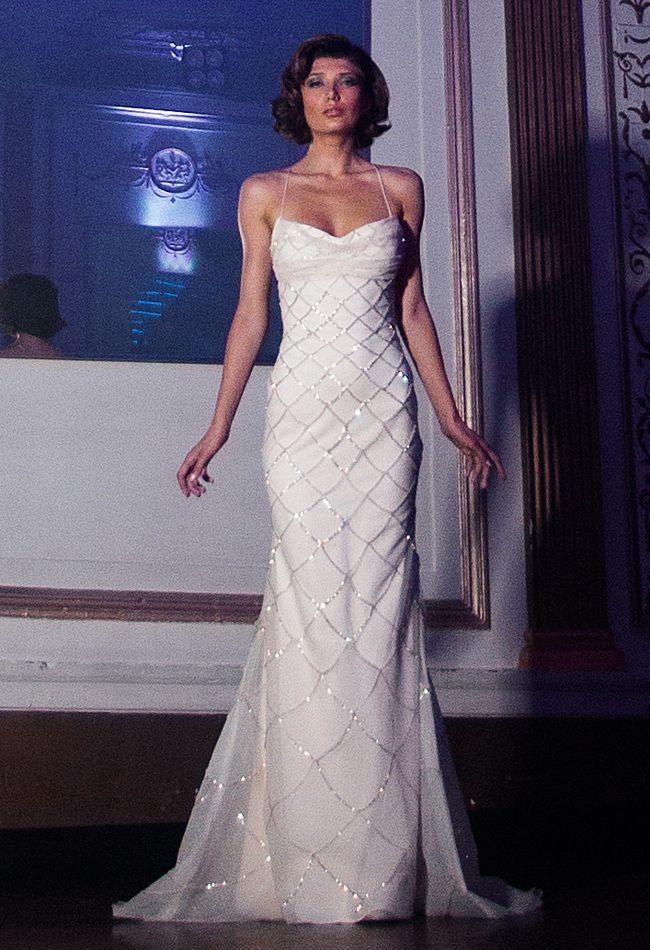 Anne Bowen Spring 2014 Wedding Dresses - The Knot Blog