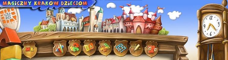 Magiczny Kraków Dzieciom – zestaw gier i zabaw tematycznie związanych z Krakowem