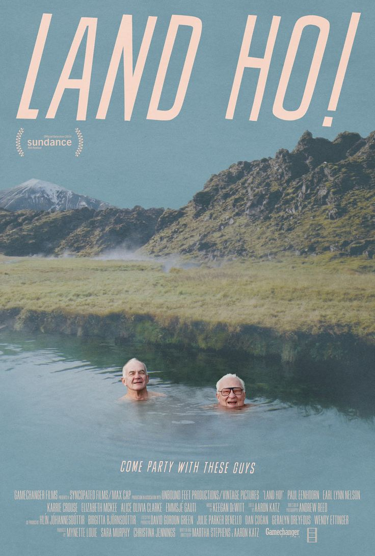 Land Ho! (2014) ✭✭✭½ Enjoyable and amusing little road pic about two old pals (Earl Lynn Nelson, Paul Eenhoorne) who decide to spice up their dull retirement lives by leaving their homes in Kentucky for an impromptu trip to Iceland. There, the aging duo search for adventure and romance - or a reasonable facsimile - often with amusing results. Land Ho! won the John Cassavetes Trophy at this year's Independent Spirit Awards