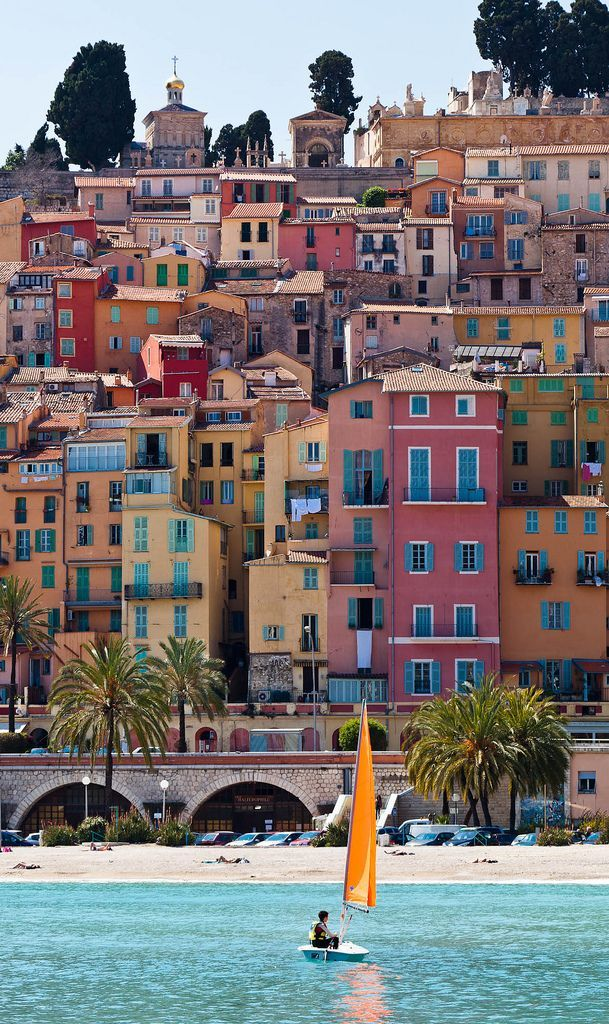 Menton ~ Provence-Alpes-Cote d'Azur, France    Get more travel inspiration and tips for visiting France at http://www.holidaystoeurope.com.au/home/resources/destination-articles/france