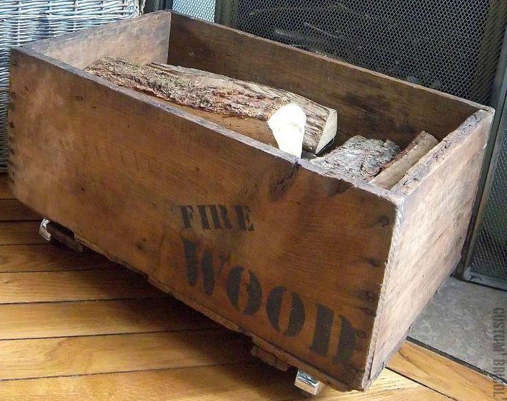 Les 19 meilleures images du tableau caisse bois sur for Deco palette et caisse en bois