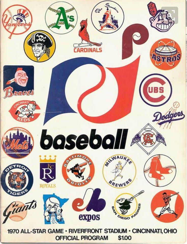 S. on Twitter Baseball classic, Vintage baseball, Mlb logos