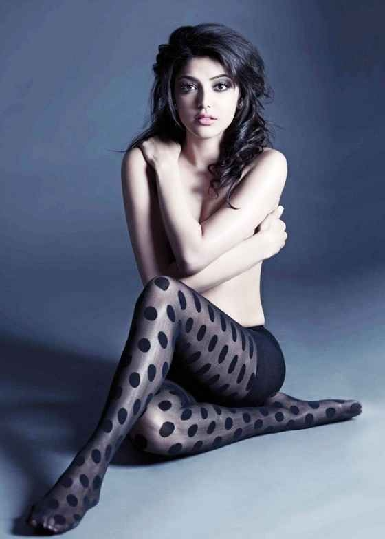 Kajal Agarwal Hot and Sexy Pics on FHM Magazine India
