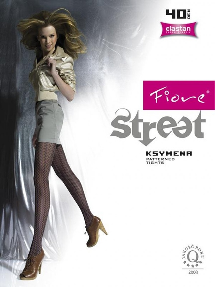 Fiore Street Ksymena Patterned Tights