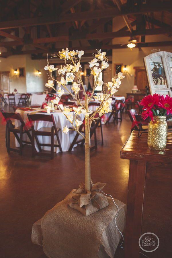 The Springs In Katy Rustic Wedding Reception Wedding Reception
