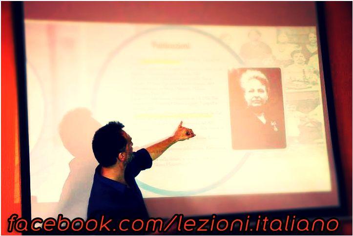 olasz tanár Budapesten