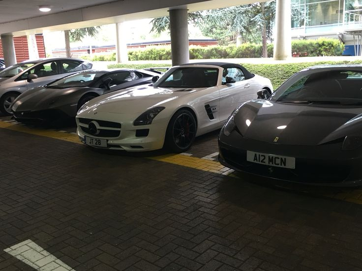 Not a bad line up of cars.