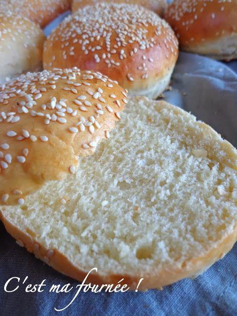 Parce qu'il n'y pas de bon hamburger sans bon pain...