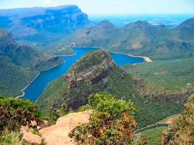 God's Window - looking towards the Blyde River Canyon, South Africa -home