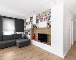 Aranżacje wnętrz - Łazienka: Mieszkanie M&M - Średnia łazienka w bloku bez okna, styl nowoczesny - 081architekci. Przeglądaj, dodawaj i zapisuj najlepsze zdjęcia, pomysły i inspiracje designerskie. W bazie mamy już prawie milion fotografii!