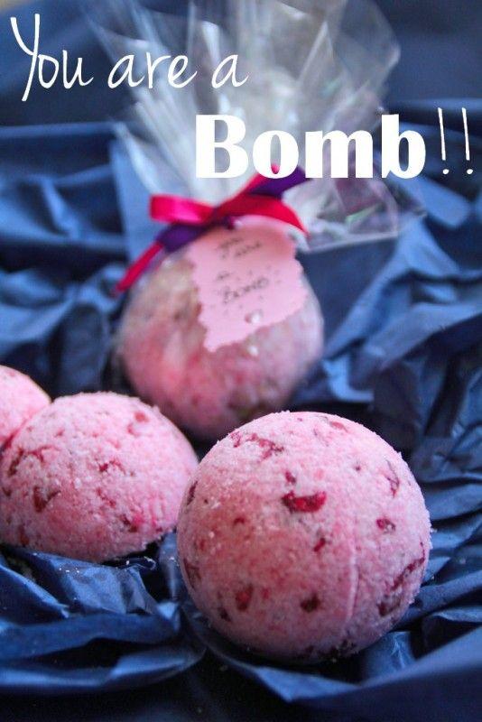 DIY bomb de bain