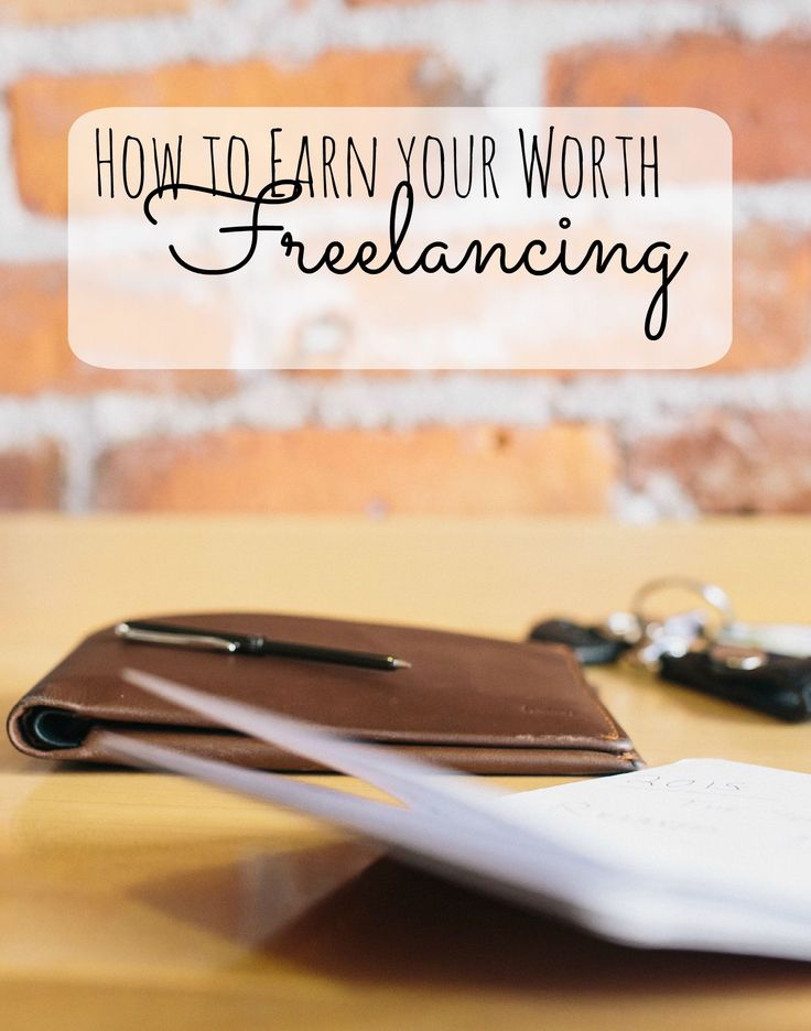 Are you afraid to take the jump into freelancing? Learn how you can earn your worth freelancing, despite any doubts or fears.