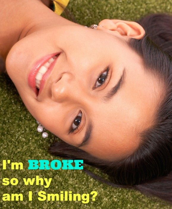 Im Tired of Being Broke So Why am I Smiling? http://madamedeals.com/im-tired-of-being-broke-why-am-i-smiling/ #inspireothers