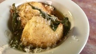 *looks SOOOO GOOD*  Ricotta Gnudi with Brown Butter and Sage Recipe | The Chew - ABC.com