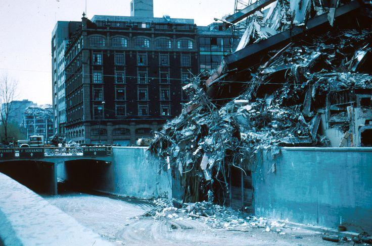 El 19 de septiembre de 1985 un terremoto azotó el centro y sur de México.