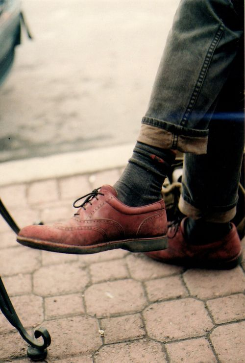 Too Much Reflection On Leather Shoes Photography
