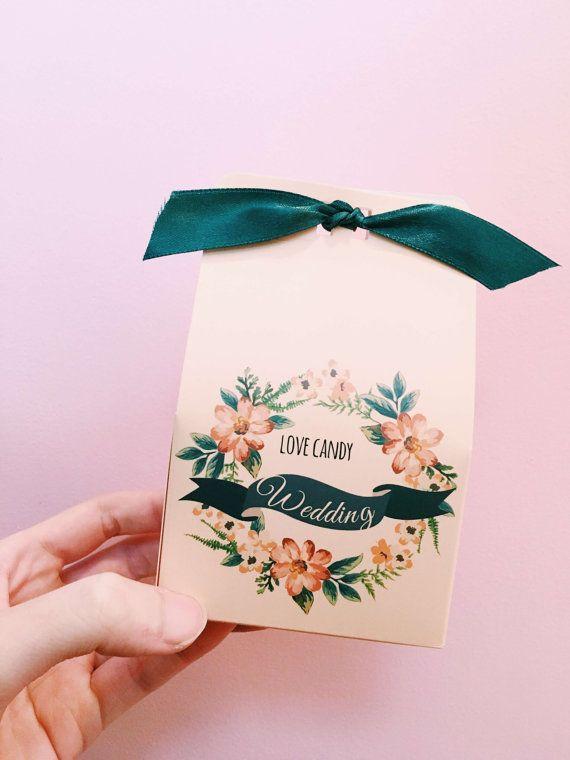 10 pcs paper wedding candy box case gift boxpaper by annasakura