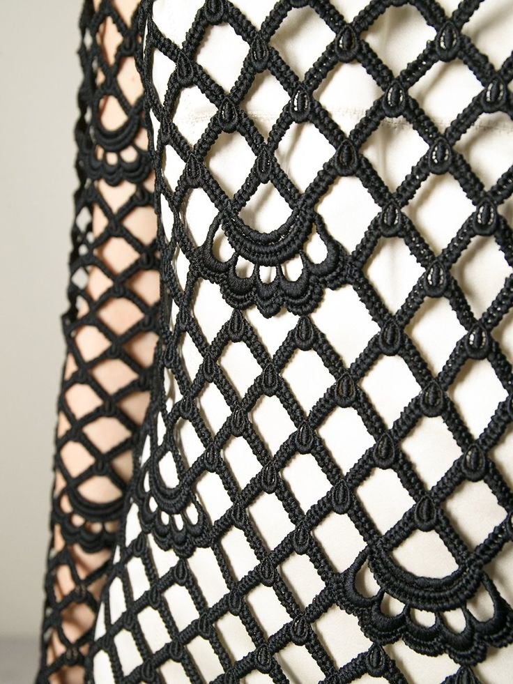 Marc Jacobs vestido de croché