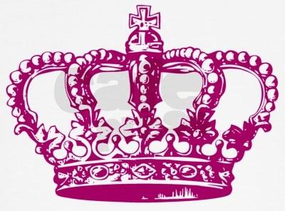 It's nice to be queen!