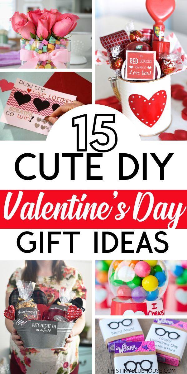 15 Crazy Adorable Diy Valentine S Day Gifts Diy Valentines Gifts Homemade Valentines Valentines Diy