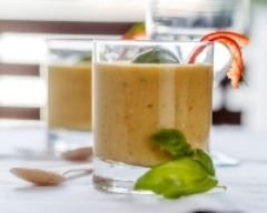 Smoothie courgettes carottes