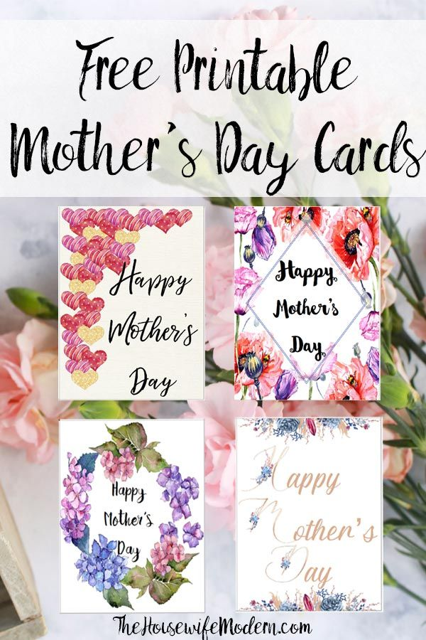 Free Printable Mother S Day Cards And Gift Tags Mothers Day Cards Free Printables Mothers Day Crafts