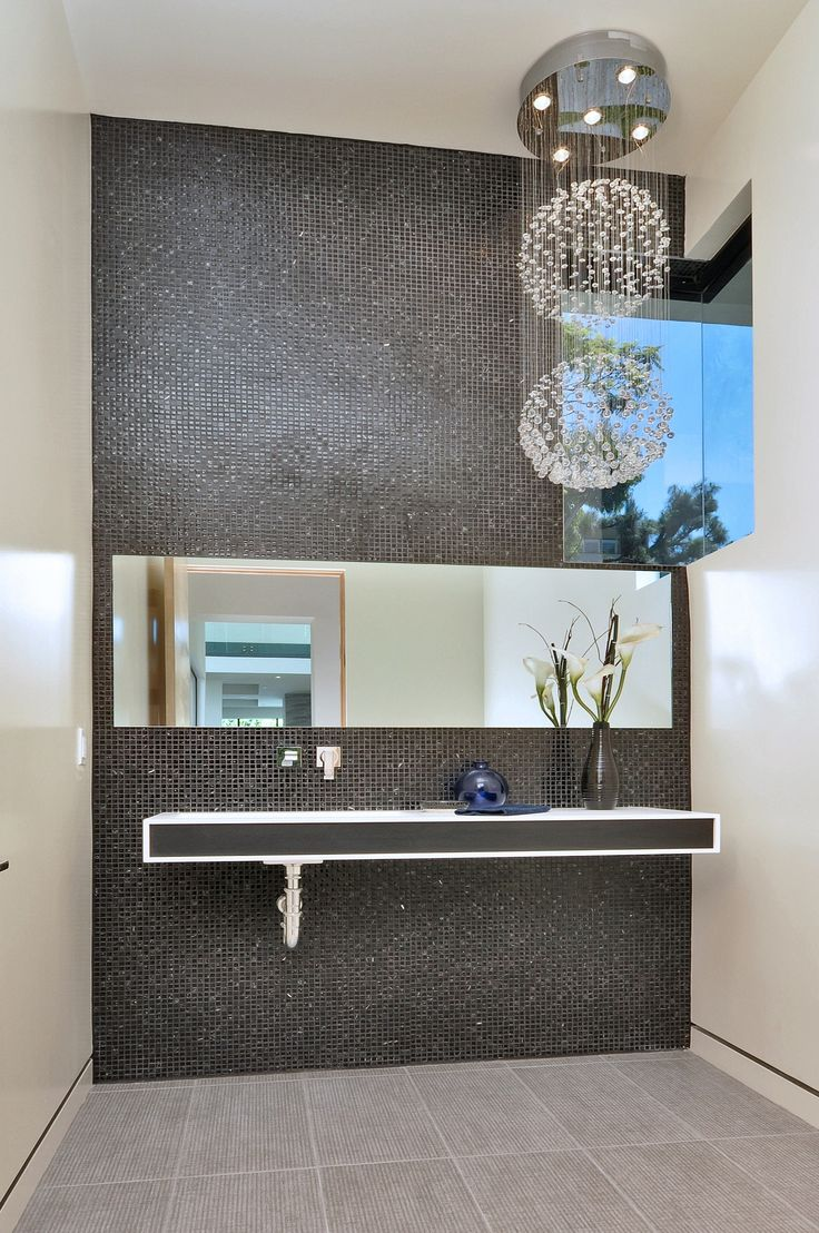 Luxuriousness in the bathroom can be achieved with the ET2 Cascada  Collection. See this collection. Contemporary ...