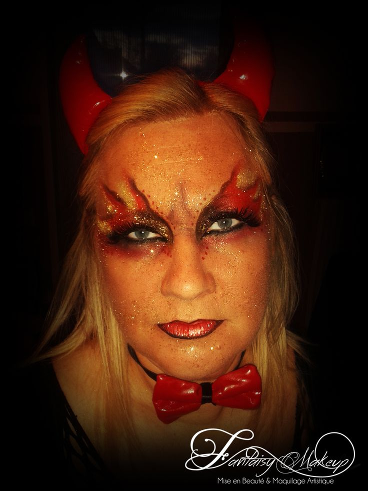 Maquillage diablesse halloween yeux - Maquillage diablesse halloween ...