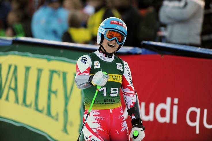 uvex wintersports athletes - alpine skiing // Elisabeth Görgl