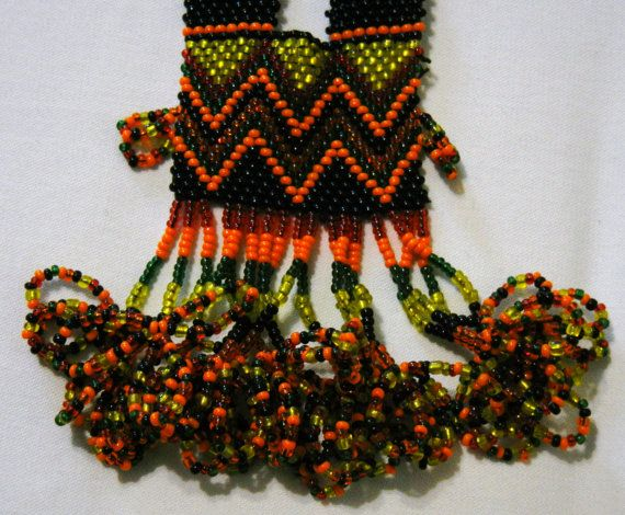 Bohemian cochella beaded waist hanging Juda by KrutisKreations