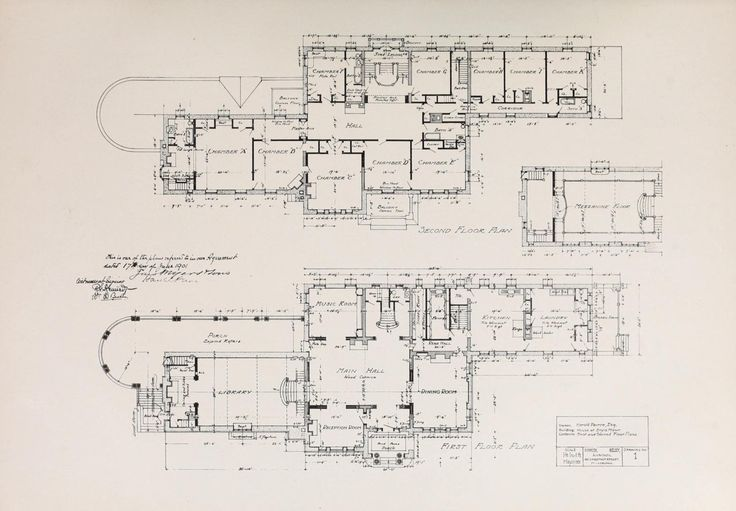 17 Best Images About Architectural Floor Plans On