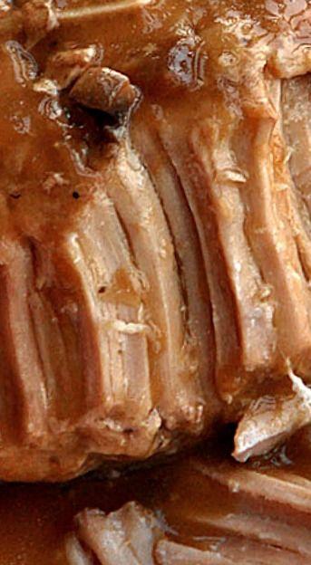 Crock Pot Pork Loin with Gravy ❊