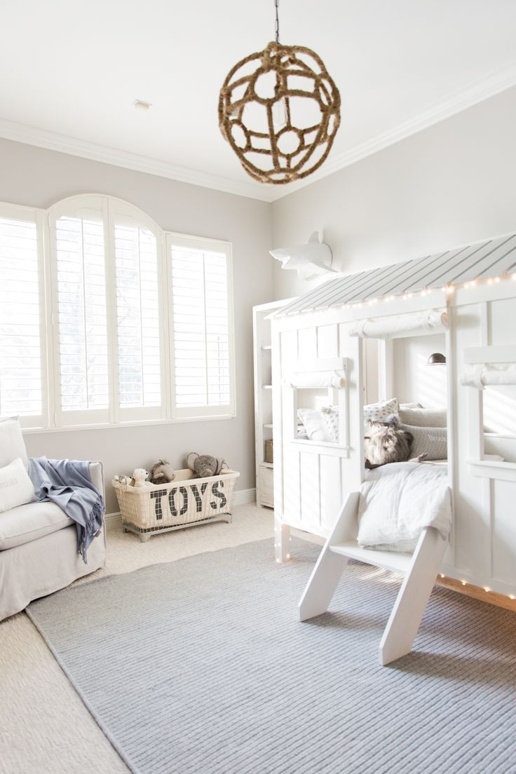 """Designed for adventure. Amanda S. Gluck, lifestyle blogger of http://fashionablehostess.com, reveals the """"big boy room"""" she designed for her son with RH Baby & Child."""