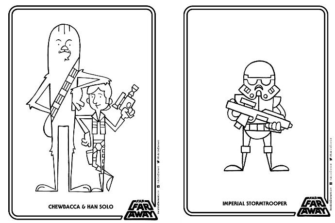 Best 25 Star wars coloring book