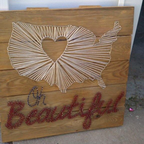 128 best string art images on pinterest spikes yarns for Diy nail and string art