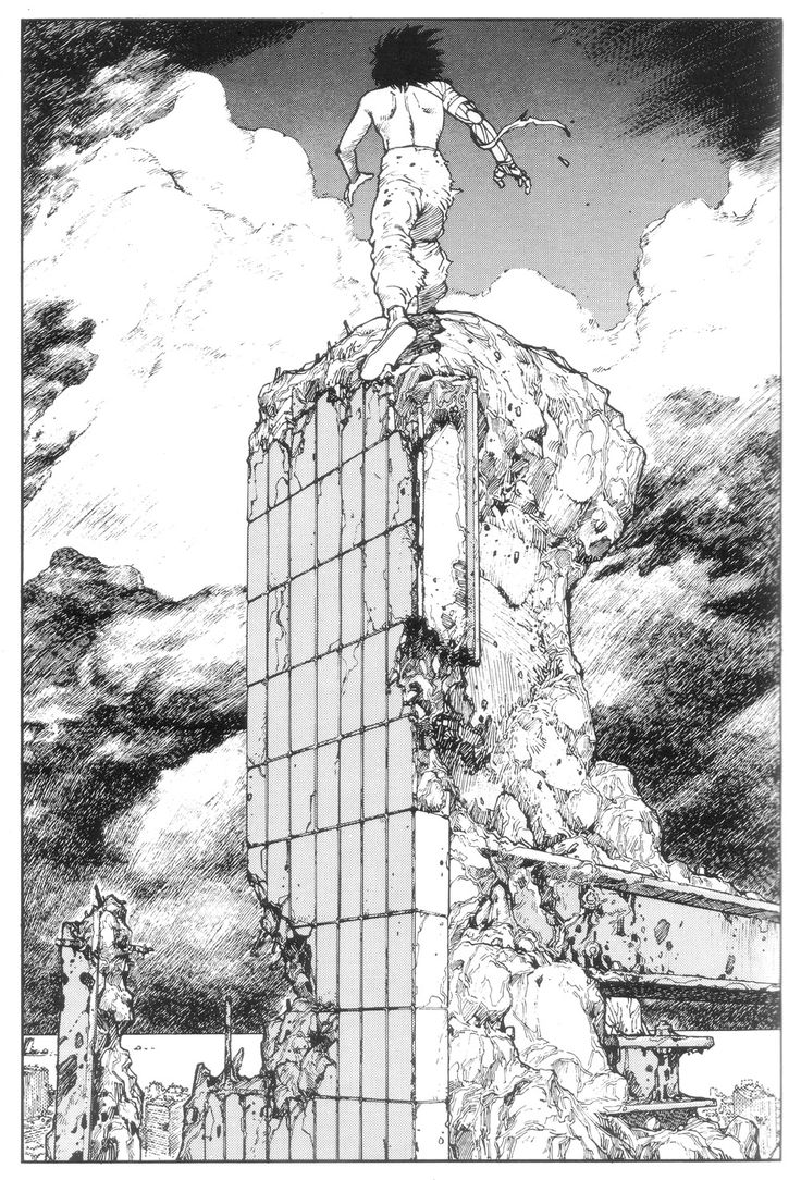 Rhade-Zapan — Akira panel by Katsuhiro Otomo [More Akira |...