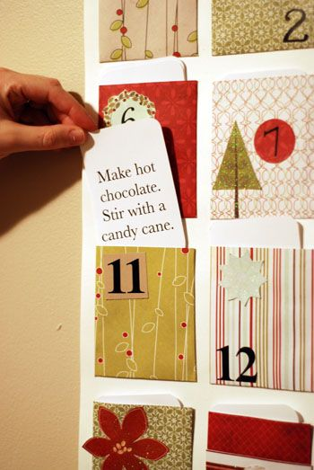 Activity Advent calendar - IDEA FOR A DIY ADVENT CALENDAR! 8 DIY Advent Calendars