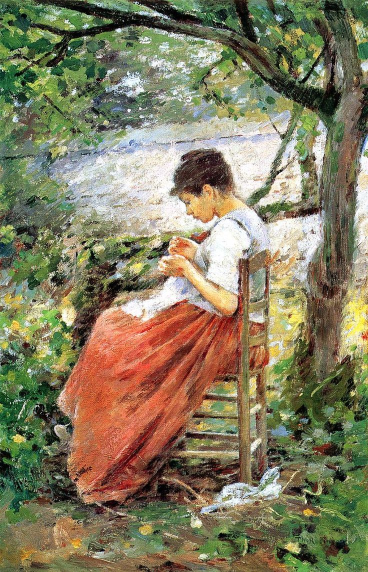 17 Best Theodore Robinson Images On Pinterest Theodore