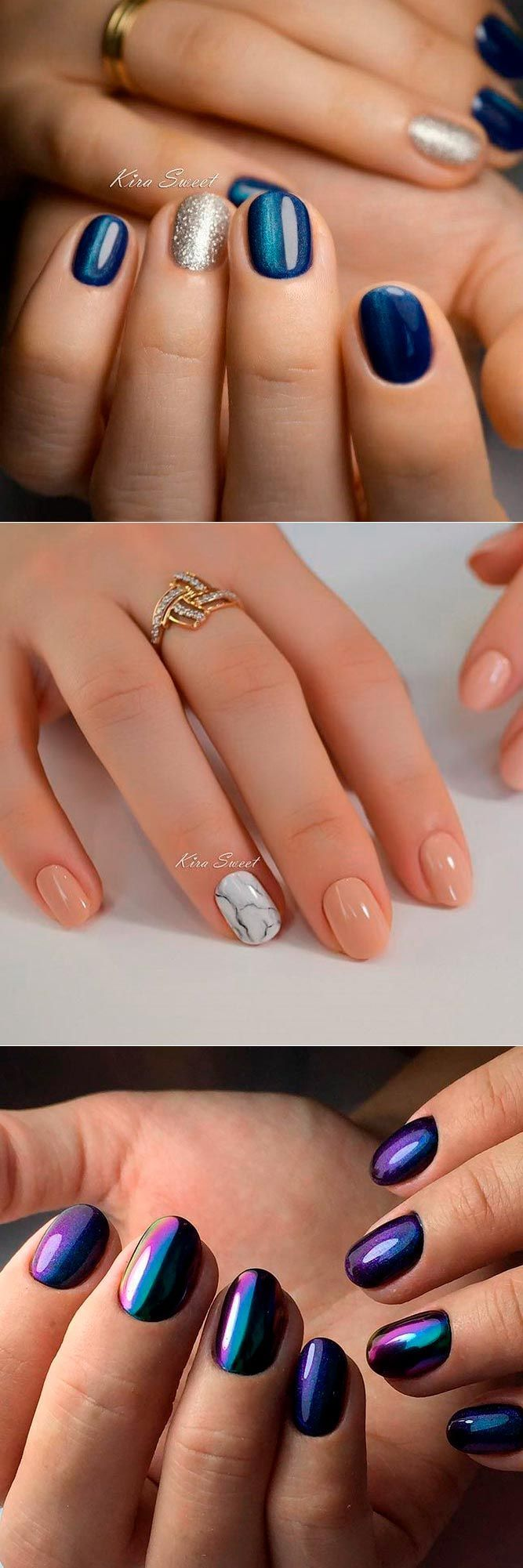 Rounded nails come with lots of advantages, from the simple maintenance to the vast range of designs. Even the pickiest of you will find something here.