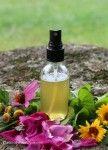 DIY Herbal Throat Spray