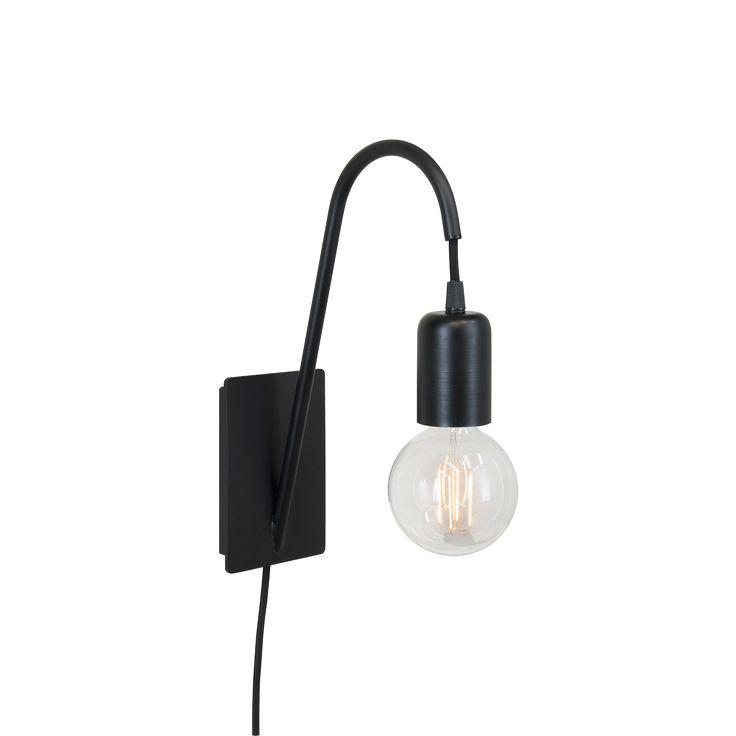 vtwonen Glow Wandlamp - Zwart 79,95 euro