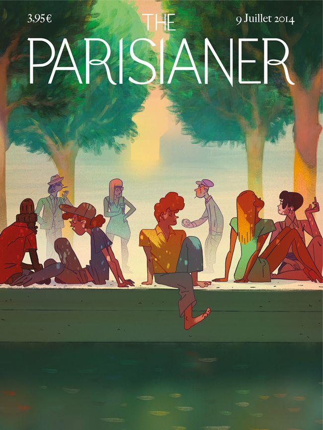 Parisianer. 9 juillet 2014 Gazhole.