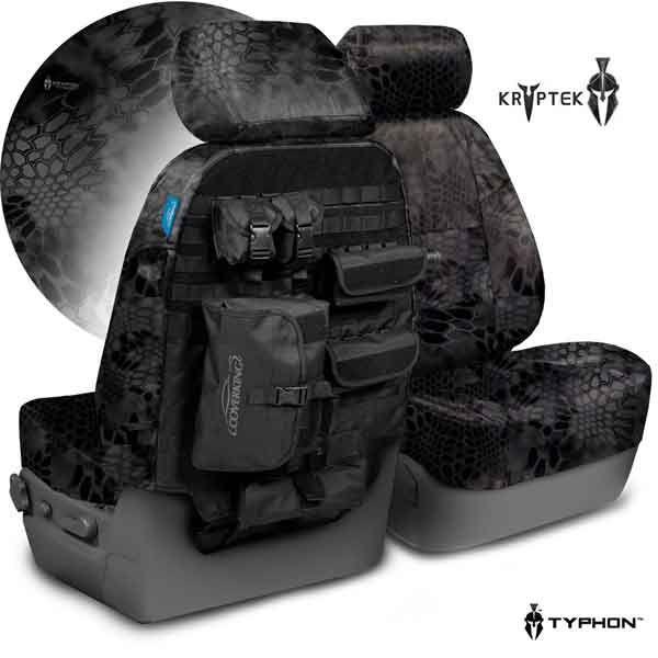 Kryptek Patterns (Tactical Seat Covers)