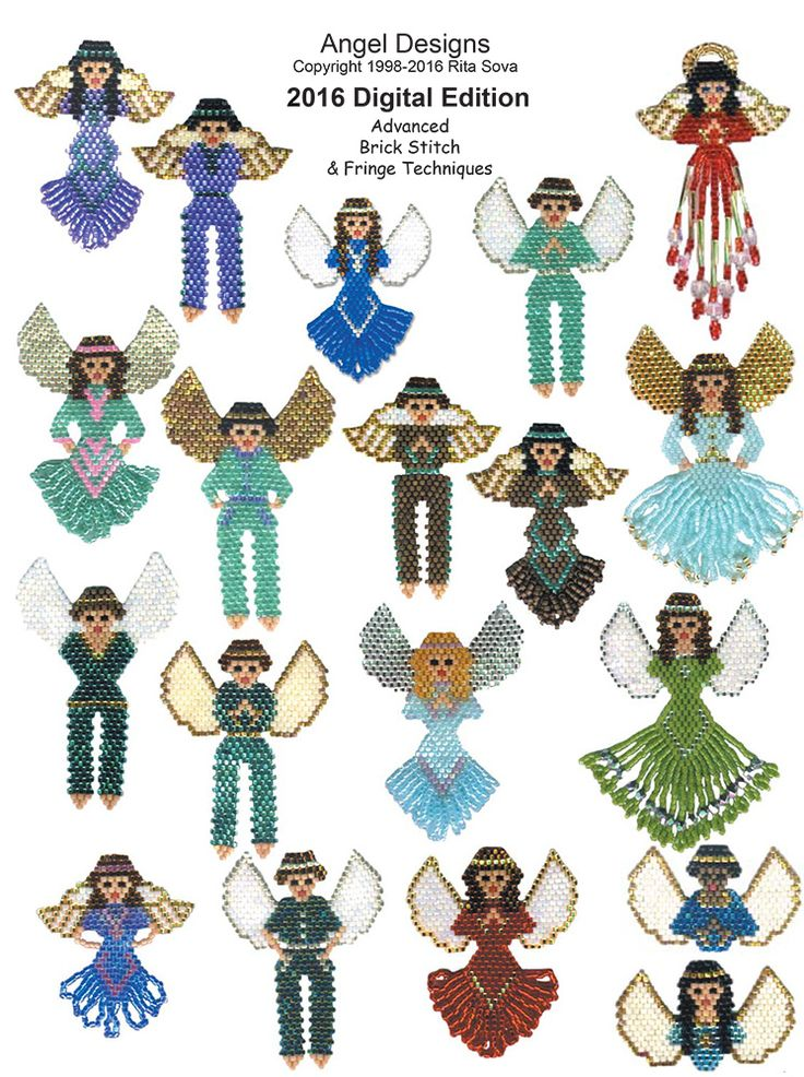 224 best AngelsBeaded images on Pinterest  Bead patterns